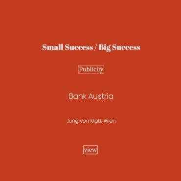 Small Success, Big Success
