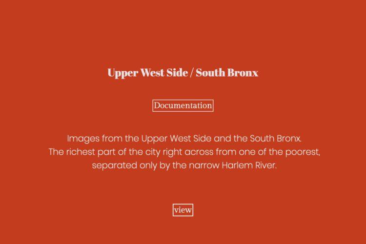 Upper West Side / South Bronx