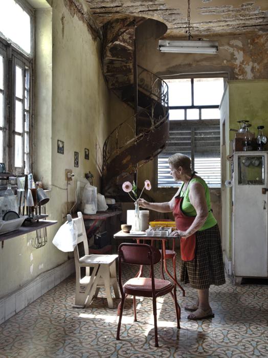 Josi in her kitchen