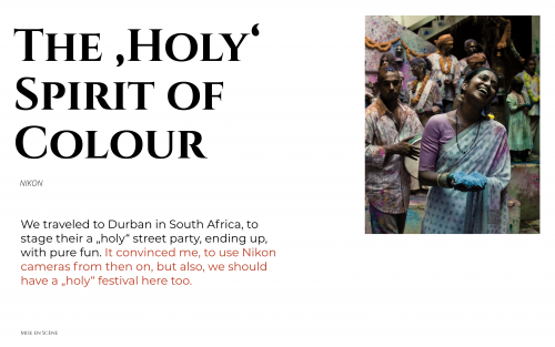 The 'Holy' Spirit of Colour