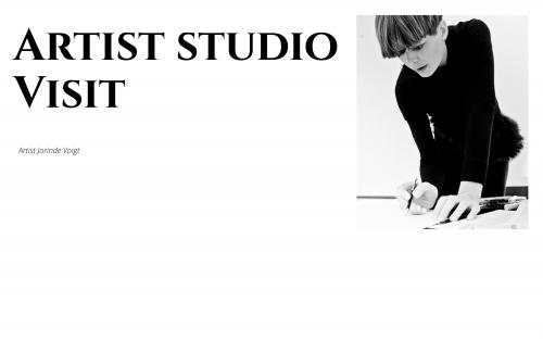 Artist Studio Visit